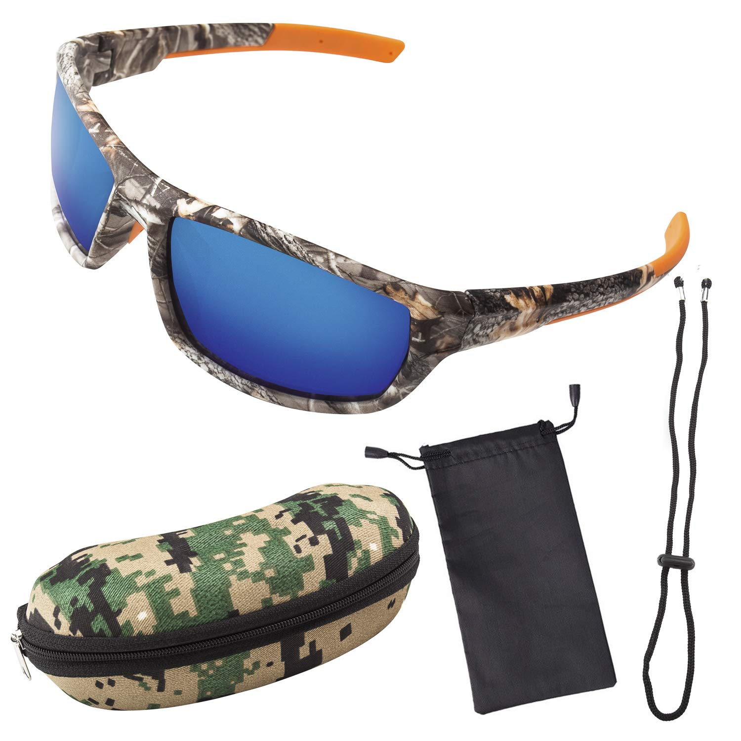 Polarized Camouflage Sport Fishing Sunglasses