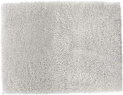 橋爪商店 浴室足ふきマット ライトグレー 約35cm×50cm コージーアップ バスマット