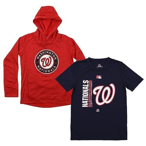 buy popular 8a156 42089 Washington Nationals Sweatshirts: Amazon.com