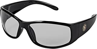 Smith and Wesson Safety Glasses (21306), Elite Safety Sunglasses, Indoor/Outdoor Lenses with Black Frame, 12 Pairs/Case