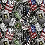 Army Military Dogtags Allover Design 43