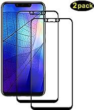 DOSMUNG Cristal Templado para Huawei Mate 20 Lite, [2 Pack] Protector de Pantalla para Mate 20 Lite, Alta Definicion, 9H esistente a Arañazos, 3D Curvo Full-Cover Vidrio Templado para Mate 20 Lite