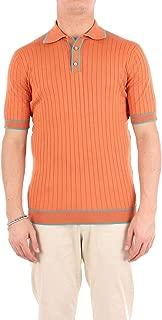 FILINTRAMA Luxury Fashion Mens A29686ORANGE Orange Polo Shirt | Season Outlet