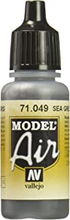 Vallejo Medium Sea Grey Paint, 17ml