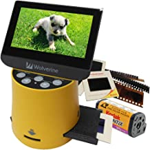 """Wolverine Titan 8-in-1 High Resolution Film to Digital Converter with 4.3"""" Screen and HDMI Output"""
