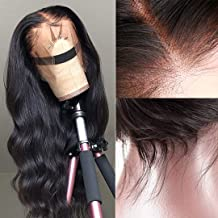 360 Lace Frontal Wig 16inch Body Wave Human Hair Wigs with Pre Plucked Baby Hair Lace Wigs Human Hair 150% Density Glueless
