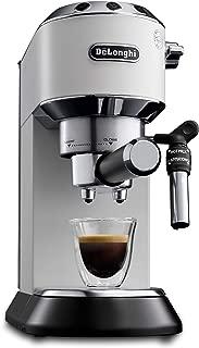 Delonghi EC685.W DEDICA 15-Bar Pump Espresso Machine Coffee Maker, 220 Volts (Not for USA - European Cord), White