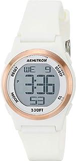 Women's Digital Chronograph Matte Resin Strap Watch