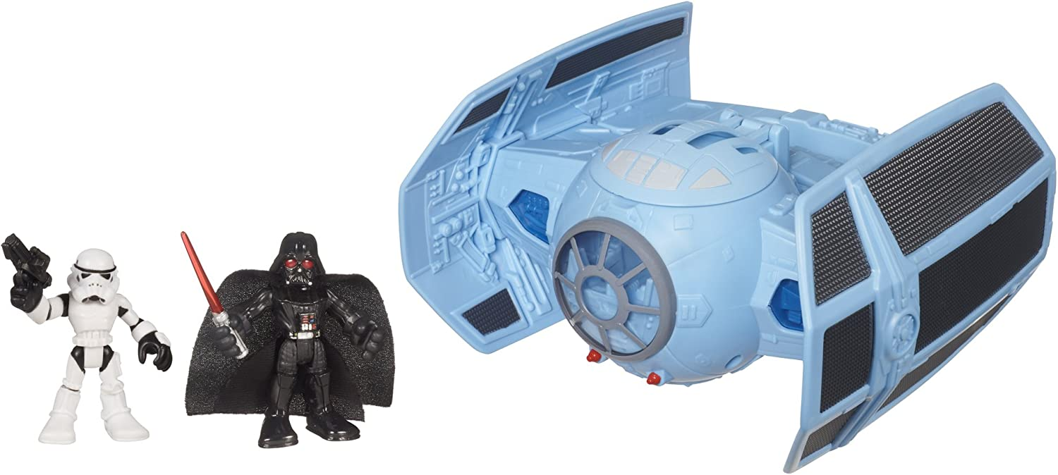 Playskool Heroes – Star Wars Jedi Force – Darth Vader's TIE Fighter (inkl. Stormtrooper) [UK Import]