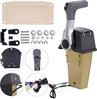 Mophorn Boat Throttle 67200-93J13 Outboard Remote Control for Suzuki Top Mount Power Trim Trailer