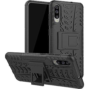 LFDZ Funda Samsung Galaxy A70,con Soporte Cáscara de Doble Capa de ...