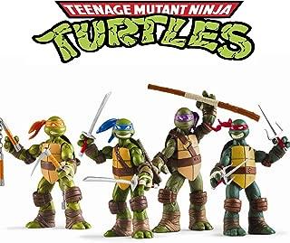 Vitadan Ninja Turtles 4 PCS Set - Teenage Mutant Ninja Turtles Action Figure - TMNT Action Figures - Ninja Turtles Toy Set - Ninja Turtles Action Figures Mutant Teenage Set