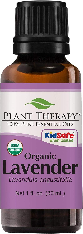 Plant Therapy Organic Lavender Essential Oil 100% Pure