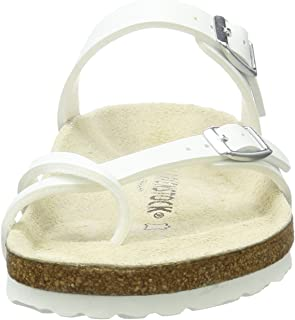 Birkenstock womens Mayari in White from Birko-Flor Thong 37.0 EU W b424db6e63f