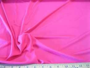 Discount Fabric Polyester Lycra /Spandex 4 way stretch Solid Perfect Pink LY935