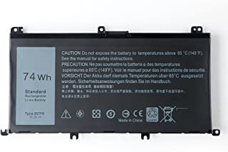 Amanda 357F9 Battery 11.1V 74Wh Replacement for Dell Inspiron 7000 Dump 15 7557 7559 INS15PD Series 0GFJ6 71JF4