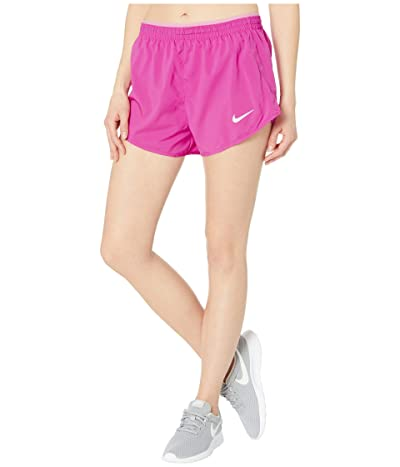 Nike 3 Tempo Lux Shorts (Fire Pink/Magic Flamingo/Reflective Silver) Women