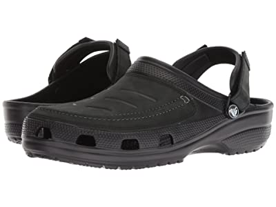 Crocs Yukon Vista Clog (Black/Black) Men