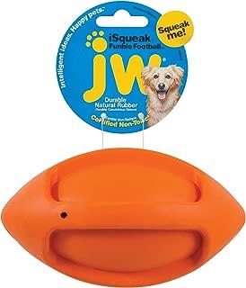 JW Pet iSqueak Funble Football Dog Toy