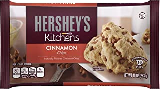 Hershey's Cinnamon Baking Chips, 10-Ounce Bag (Pack of 3)