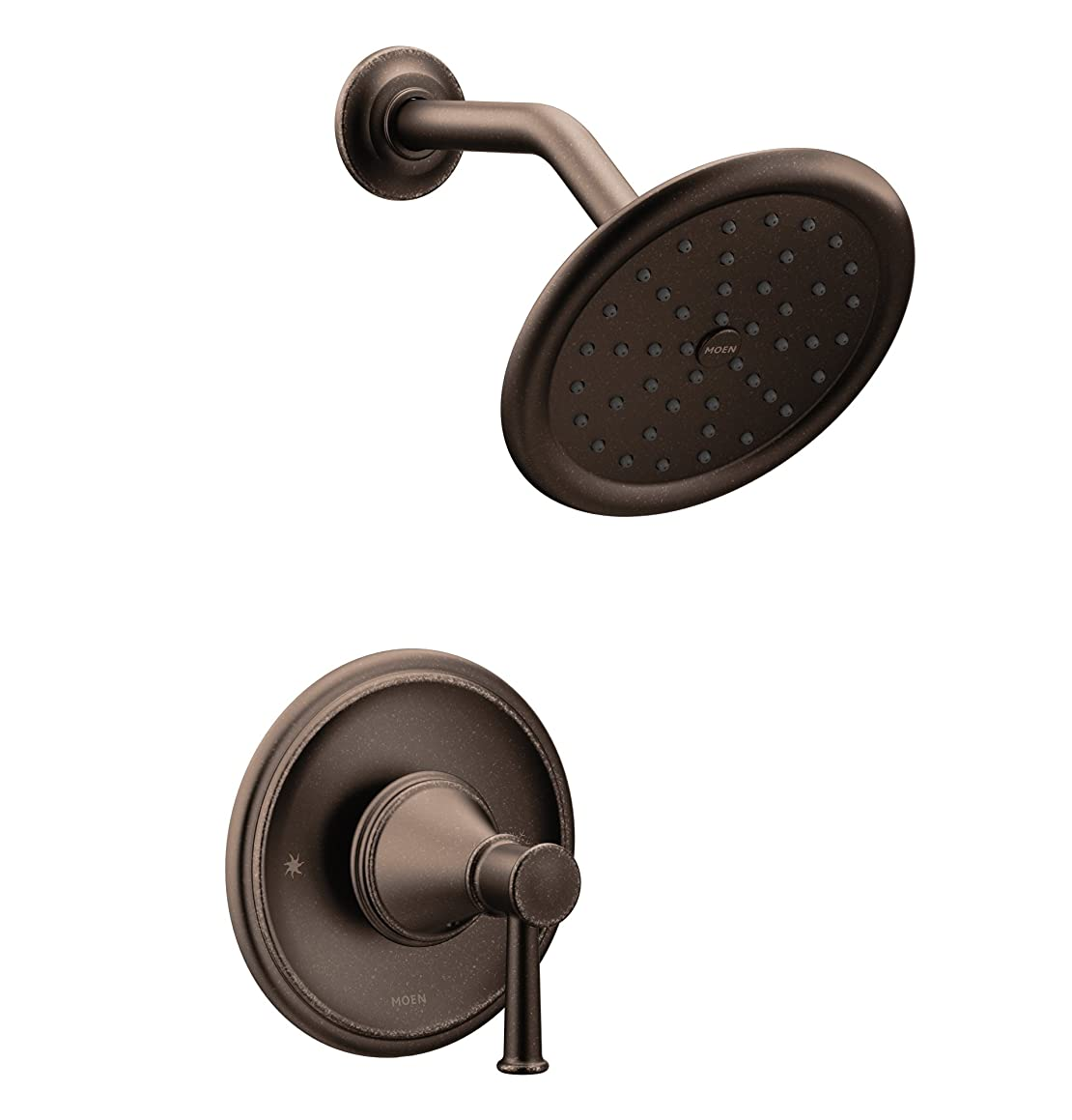 Moen T2312ORB Belfield Posi-Temp Shower Trim Kit Without Valve, Oil Rubbed Bronze