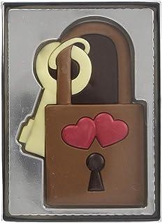 Cadenas en chocolat - motif amour - 80 g