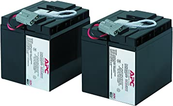 APC UPS Battery Replacement for APC Smart-UPS Models SMT2200, SMT3000, SMT2200C, SMT200US, SMT3000C, SUA2200, SUA3000 and Select Others (RBC55)