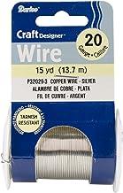 Darice Craft Wire 20 Ga NonTarnish Silver 15yd