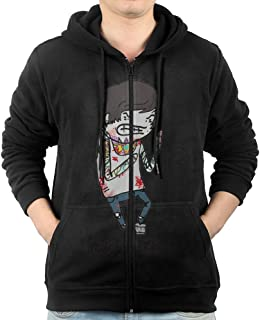 Mens Rocco Great Mitch Lucker Suicide Silence Sweatshirt Zip Hoodie