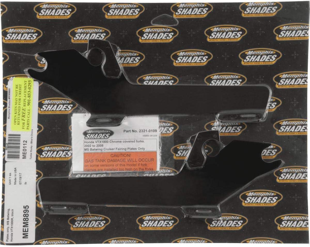 Memphis Long-awaited Shades MEM8895 2021 autumn and winter new Black Trigger-Lock Mount Honda fits Kit V