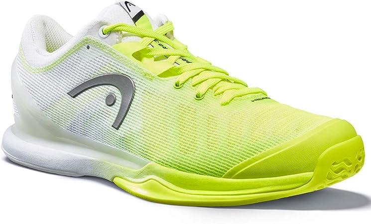 HEAD Sprint Pro 3.0 Clay Men Chaussure de Tennis pour Hommes Midnight Navy//Neon Rouge