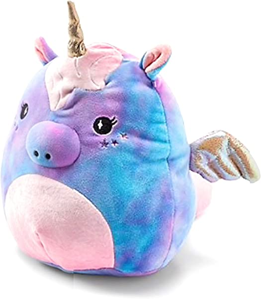Squishmallows Justice Exclusive 8 Starry The Unicorn Cotton Candy Scented Super Soft Plush Pillow Stuffed Animal