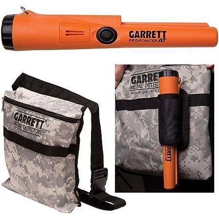 Garrett Pro Pointer ATMetal Detector Waterproof ProPointer with Garrett Camo Pouch