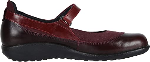 Violet Nubuck/Bordeaux Leather/Rumba Leather