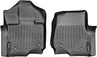 WeatherTech FloorLiner Front Mats Only (1st Row Driver/Passenger) - 446971 - Black