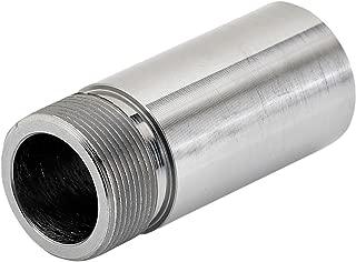 Lowbrow Customs 3324 Frisco Style Steel Petcock Bung (Perfect for Panhead, Ironhead, Shovelhead and Custom Applications),22 mm Long)
