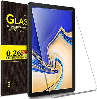 Luibor Samsung Galaxy Tab S4 10.5 SM-T830/SM-T835 Tablet Protector de pantalla de vidrio templado Ultra-thin 9H Dureza y la más alta calidad HD clear Protector de pantalla de vidrio para Samsung Galaxy Tab S4 10.5 SM-T830/SM-T835 Tableta (1 pieza)