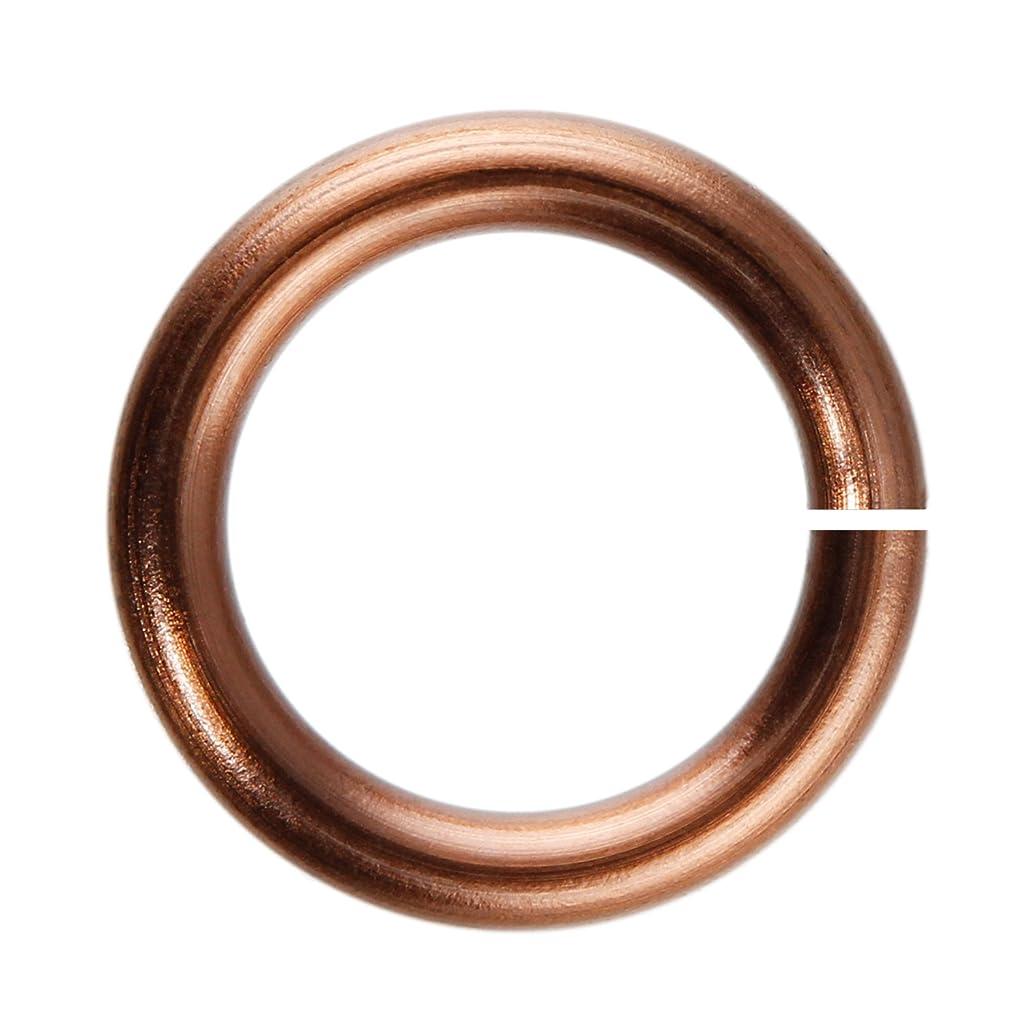 18-Gauge 4mm Antique Copper Enameled Copper Jump Rings - 1 ounce