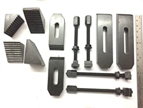 24 Pcs Clamp Kit Set M6 (6 mm) For Rotary Tables, Milling Tables, Face Plates & Vertical Slide