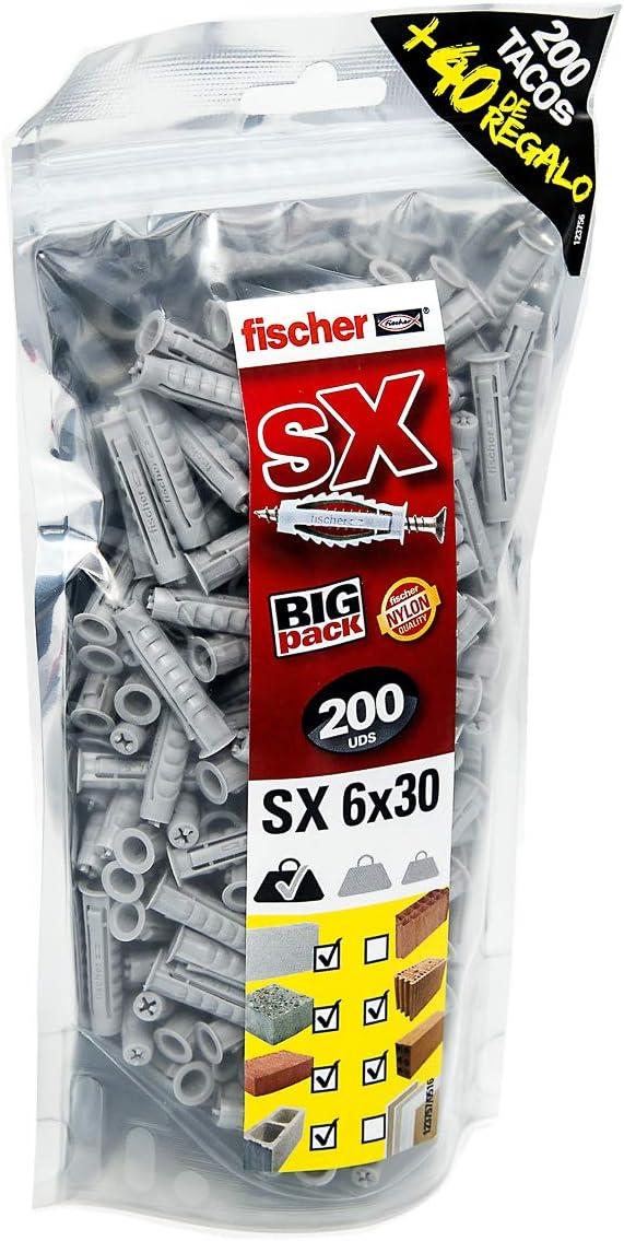 Fischer SX Taco Big Pack 200+ free shipping trust 6x 30mm 40Free