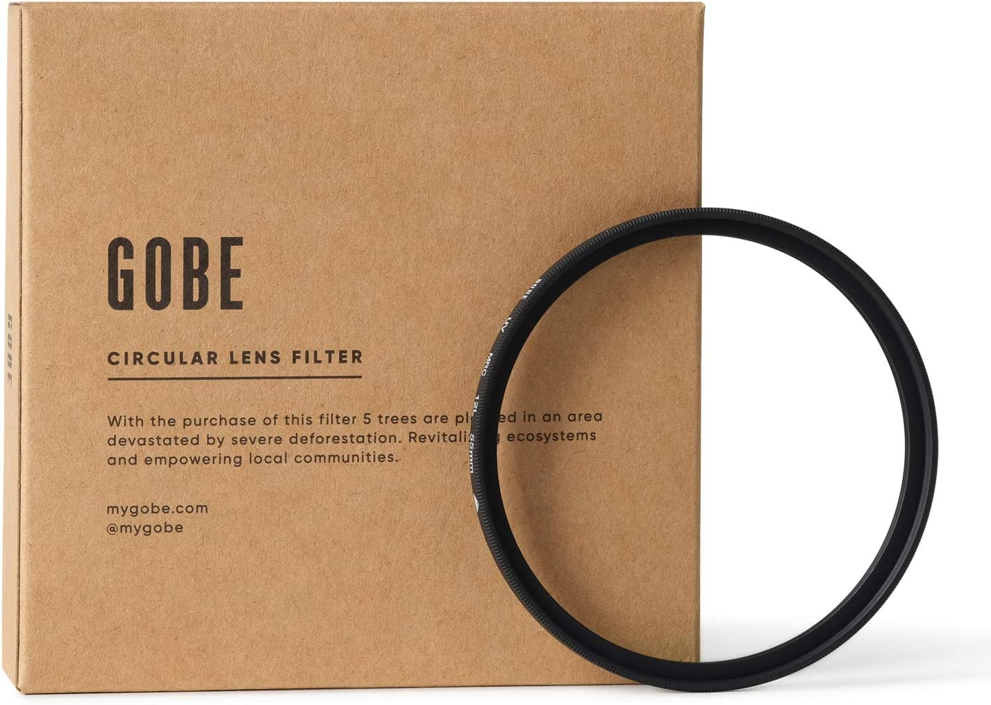 Gobe 55mm UV Courier shipping free Lens Filter 1Peak 4 years warranty