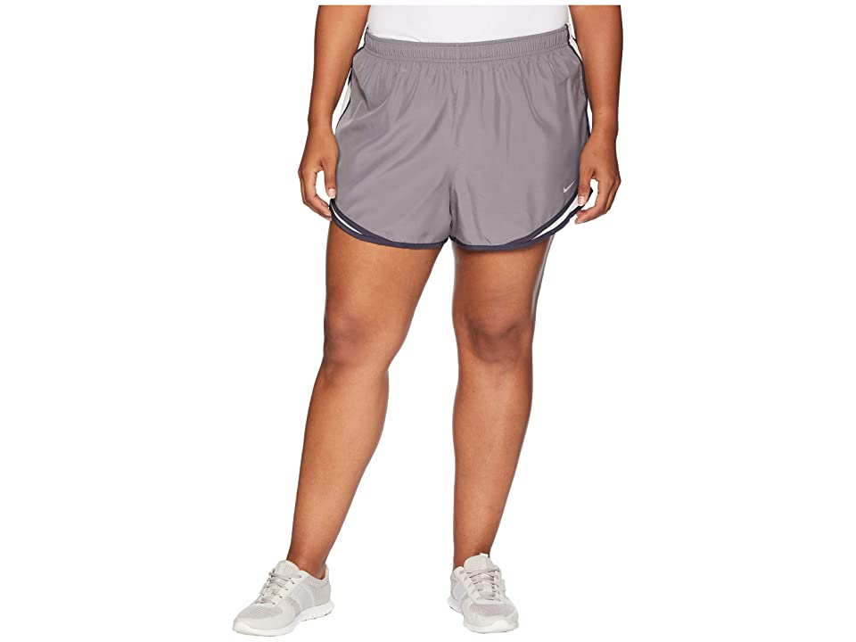 Nike Dry Tempo 3 Running Short (Size 1X-3X) (Gunsmoke/Vast Grey/Gridiron/Wolf Grey) Women