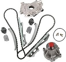MOCA Timing Chain Water Oil Pump Kit for 1997-2002 Ford E-150 Econoline Explorer Thunderbird & Mercury Cougar Lincoln 4.6L V8 SOHC - Romeo Engine