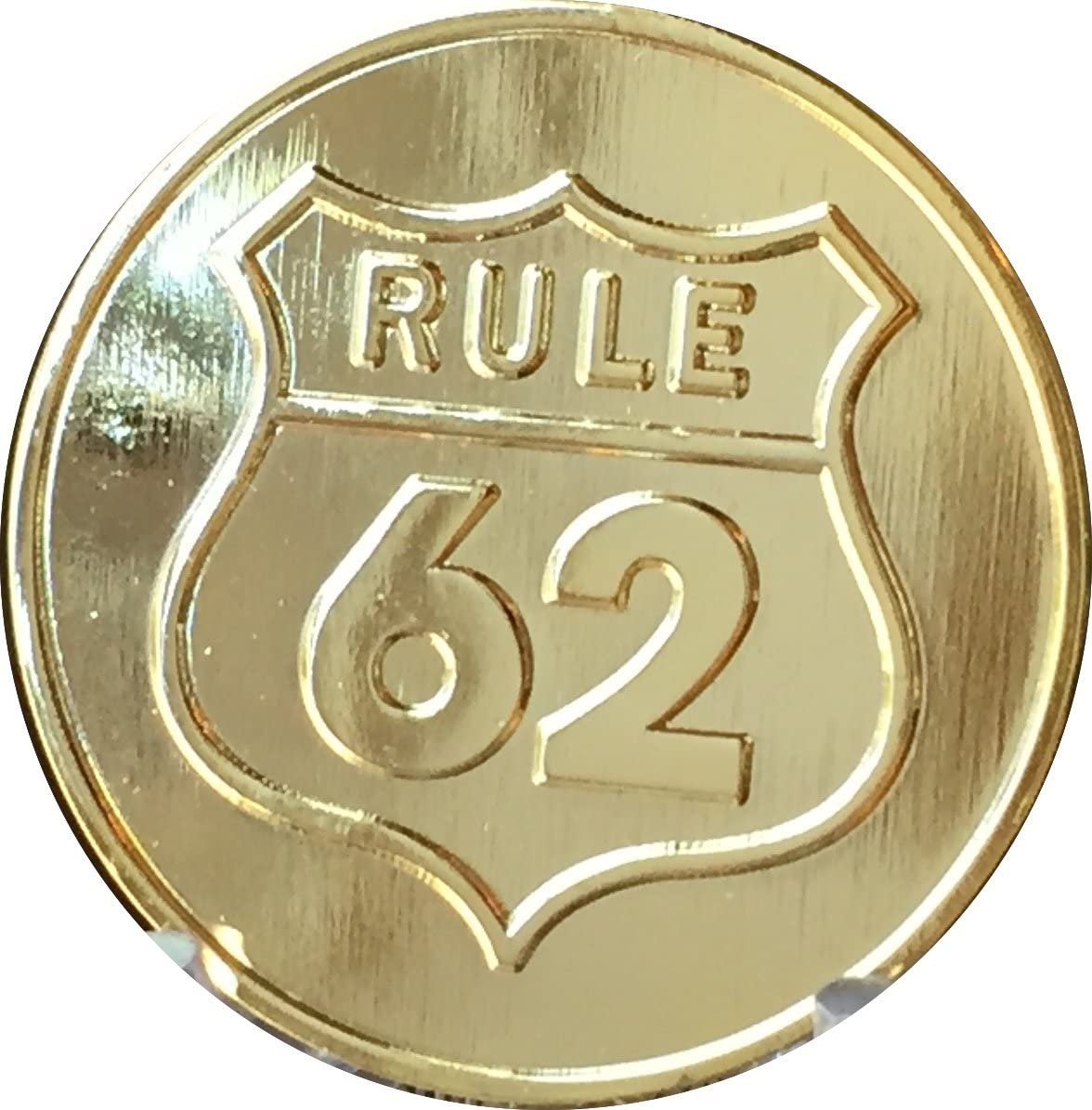 Rule 62 Rapid rise Don't Take Yourself Too Tone Medall Gold Serious Direct store Damn AA