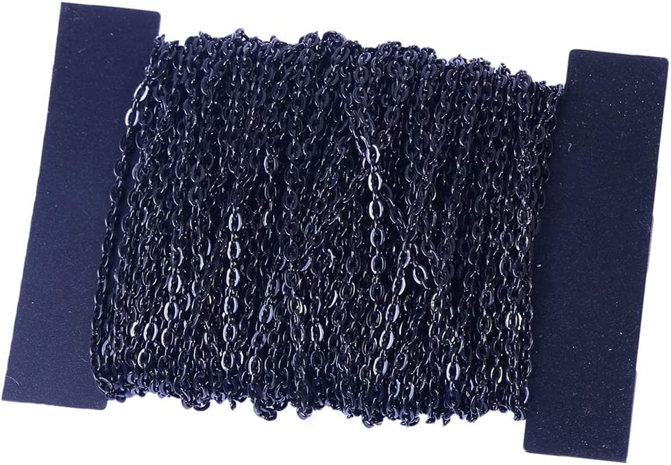 menolana 13Yds Our shop OFFers the best service Cable Chain Link for Max 58% OFF P Accessories Making Jewelry
