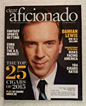 Damian Lewis - Billions - Cigar Aficionado Magazine - January/February 2016 - Fantasy Sports Betting, The Top 25 Cigars of 2015, Congressman Peter King articles