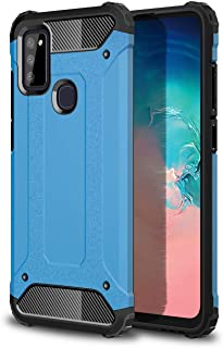 TingYR Case for Samsung Galaxy F12, [Anti-fall] TPU/PC Shockproof Phone Cover, Full Body Protection Cover, Phone Case for ...