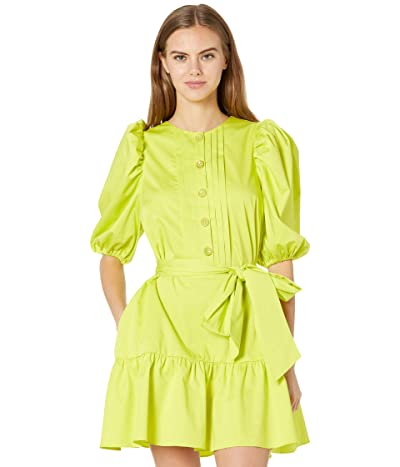 Ted Baker Sofiiia Button Front Long Sleeve Mini Dress Women