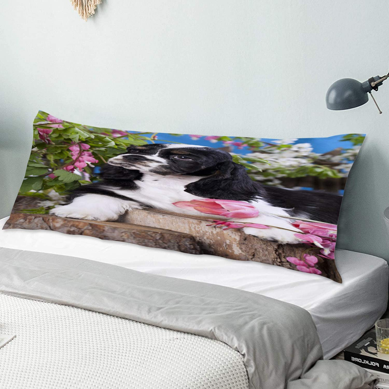 KENADVI Super special price Body Pillow Cover Pillowcase Quantity limited Spaniel Cocker Dog American