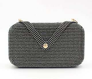 ETH Diamond Black Diamond Evening Bag Hand Bag Ladies Bag Banquet Bag Diamond Dress Married Bag 20.5CM * 5CM * 11.5CM Hand Bag